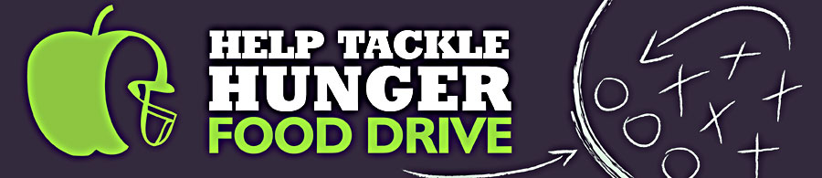 Tackle Hunger Food Drive